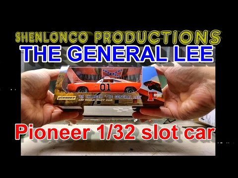 pioneer Dukes Of Hazzard GENERAL LEE slot car review sort of