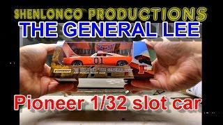 pioneer Dukes Of Hazzard GENERAL LEE slot car review sort of
