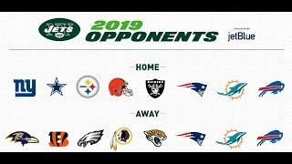 Jets 2019 Schedule Breakdown/Reaction