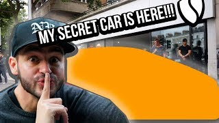 My secret car is here! *no clickbait kids*