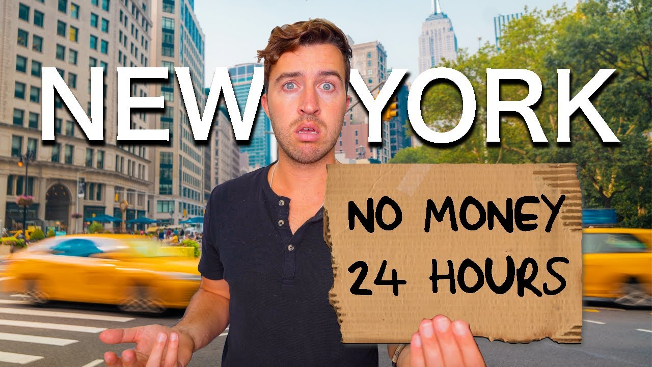 I Spent 24 Hours in New York City with NO MONEY