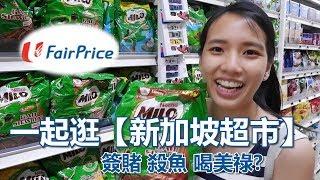 跟著我們【逛新加坡超市】簽賭殺魚自助結帳?Milo控制了新加坡!Let's go Fair Price!