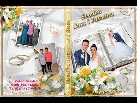 Svadba Jasmina i Enes 2 dio Simin Han  Muz Nuki Begić-Damirowski Band  29 07 2017 Asim Snimatelj