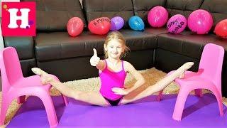 Как сесть на ПОПЕРЕЧНЫЙ ШПАГАТ.  Видео урок.  7 упражнений для растяжки.:)