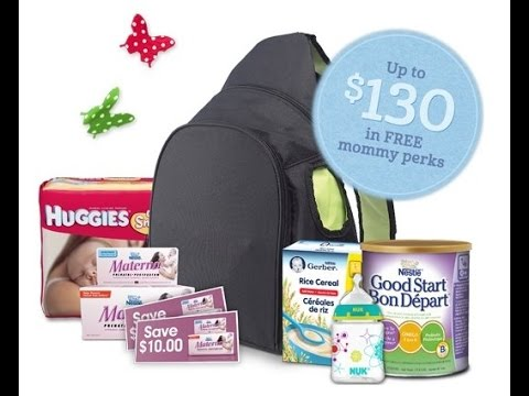 Baby Freebies Nestle Good Start Gift Bag