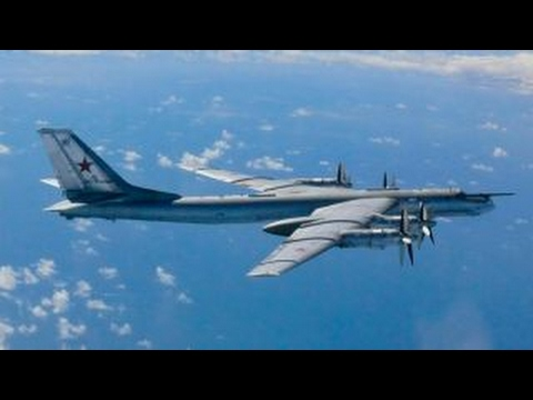 Russian bombers off coast of Alaska for 2nd night in a row