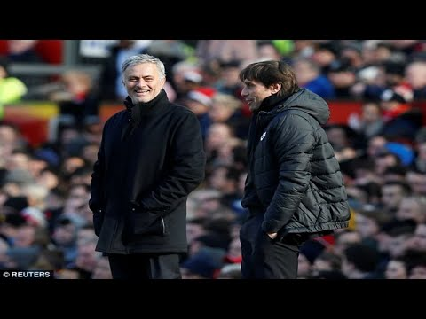 Manchester United manager Jose Mourinho admits bad blood with Antonio Conte is now over after