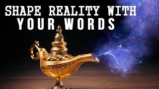 The MAGICAL POWER of WORDS to MANIFEST FASTER! (Law of Attraction)
