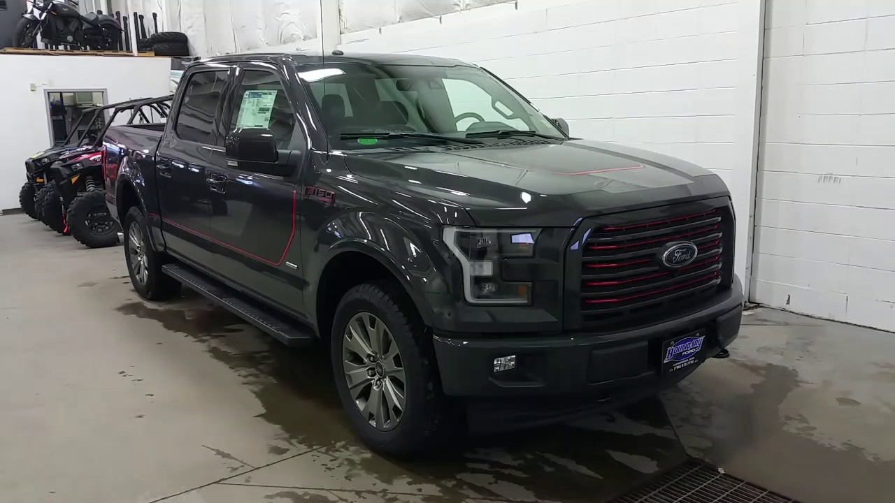 2017 ford f150 lariat sport special edition lithium grey w 20 wheels review boundary ford. Black Bedroom Furniture Sets. Home Design Ideas