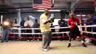 Zab Judah Open Workout Highlights For Malignaggi Fight