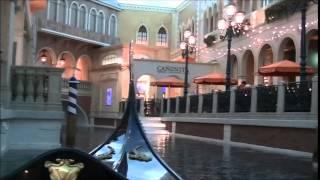 gondola ride with gondolier singing that s amore