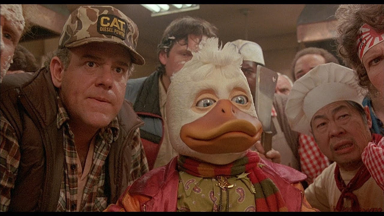 howard o superher243i howard the duck 1986 trailer