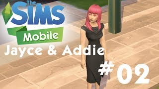 The Sims Mobile - Jayce and Addie - Coffee Shop - Let's Play Part 02