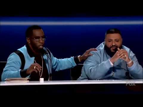 Dj Khaled struggles with 'circumstances' pronunciation | The Four