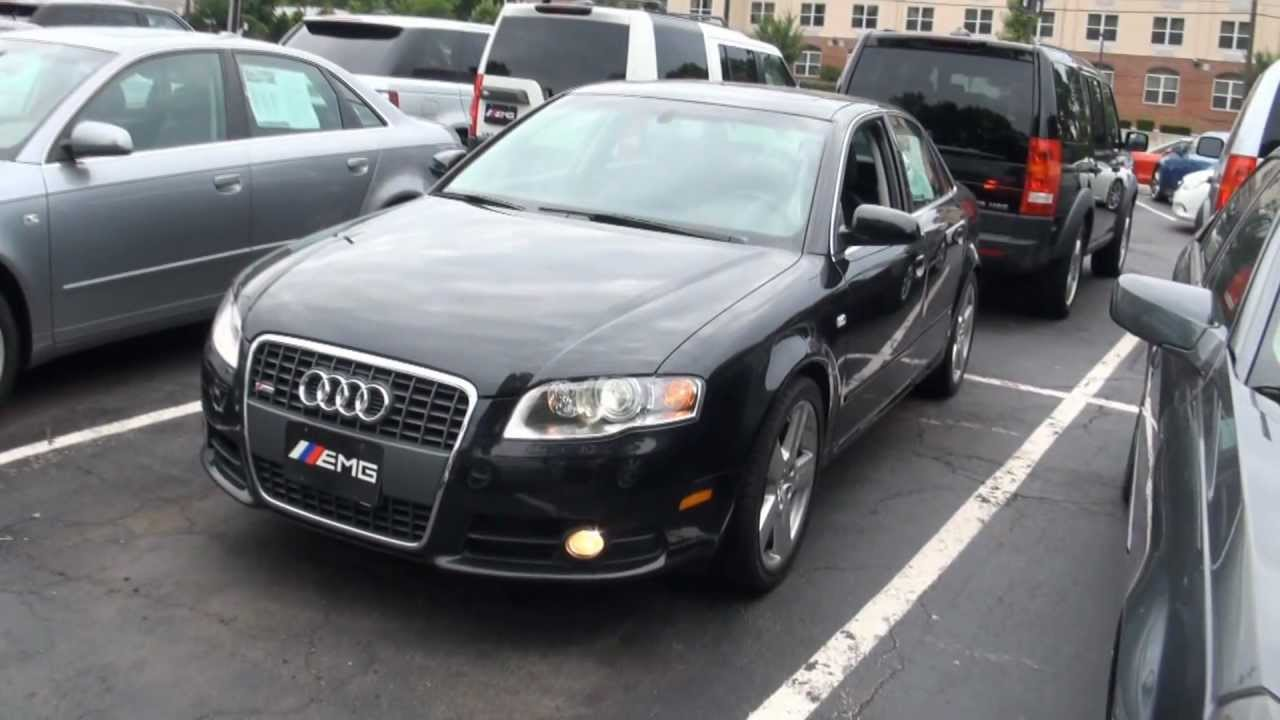 2008 audi a4 s line 2 0t b7 quattro navi youtube. Black Bedroom Furniture Sets. Home Design Ideas