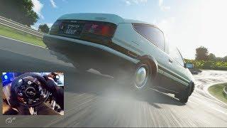 GT Sport GoPro AE86 vs Drift Trail / Stock vs MAX Horsepower UPDATE 1.38