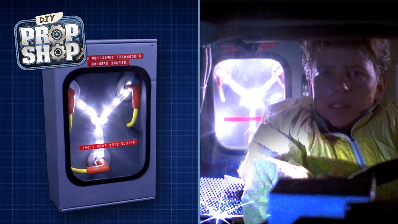 flux capacitor watch instructions
