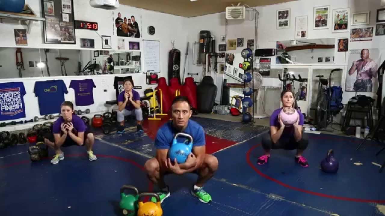 1  Kettlebell Workouts • BEGINNERS WORKOUT