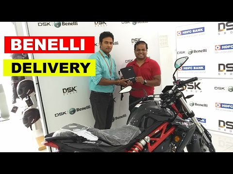 Taking Delivery of Benelli TNT bike
