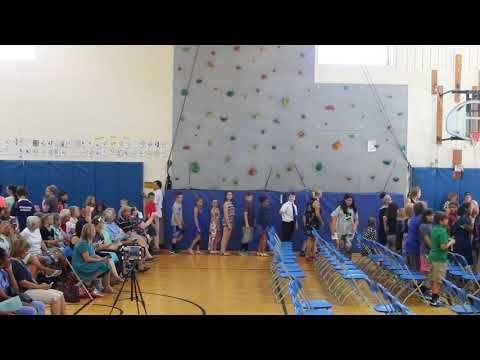 5th grade promotion ceremony, Elizabeth Cady Stanton School