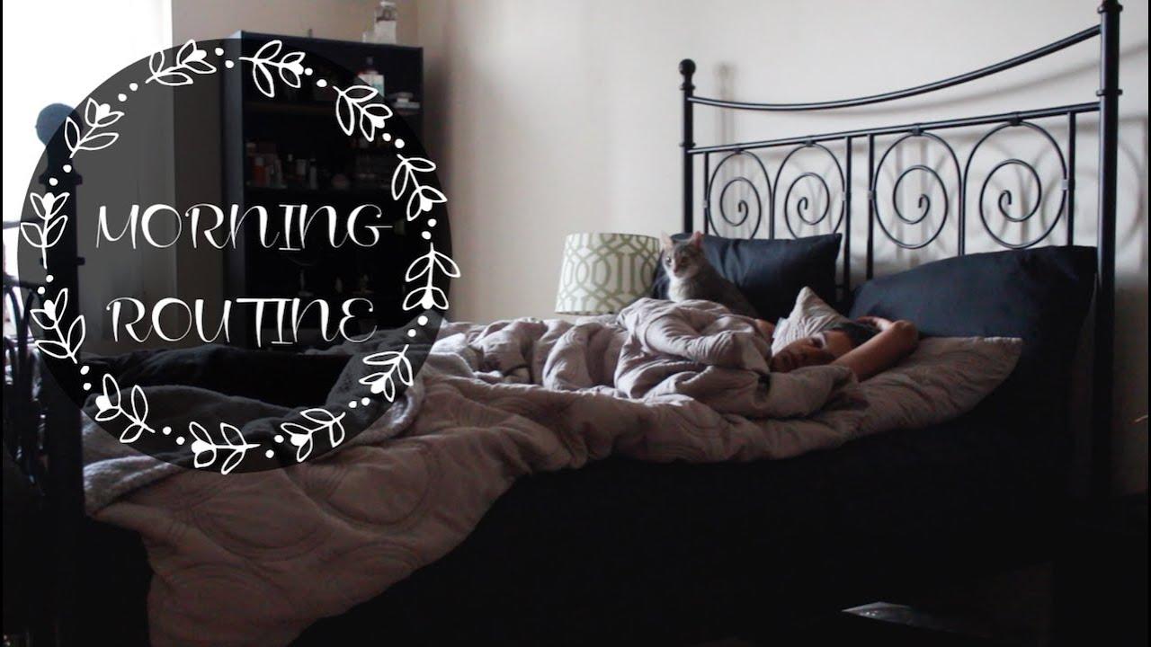 REALISTIC MORNING ROUTINE | VET GRAD STUDENT