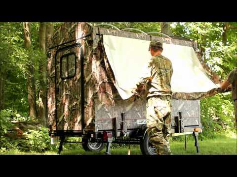 EZ Hunt & Haul - Hunting Blind And ATV Trailer