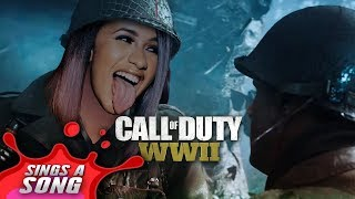 Cardi B Bodak Yellow Parody COD WW2 Song TBT.mp3