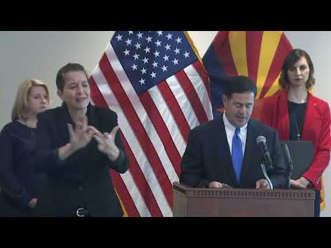 Arizona Governor Announces Stay-at-home Order