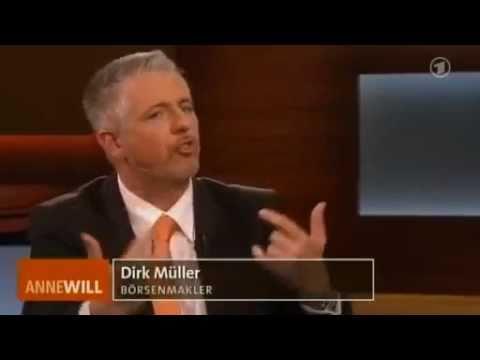 Dirk Müller vs. Otto Fricke FDP - 26.06.2011 Anne Will - Bananenrepublik