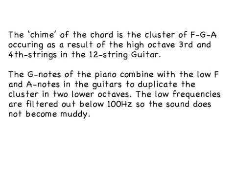 The Beatles Demonstrate Ahdn Chord The Reason Why Martin Added 2