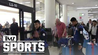Rescued Thai Soccer Team Hits L.A., Bring On Hollywood! | TMZ Sports