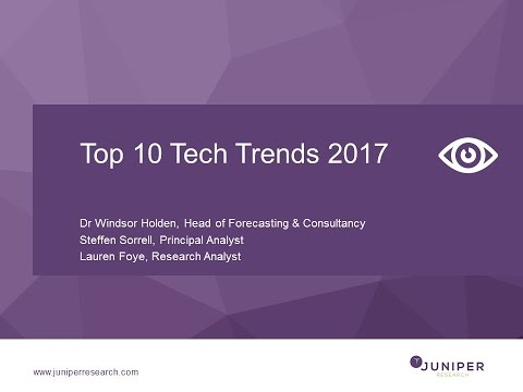 Top 10 Tech Trends 2017 Webinar