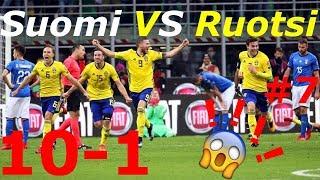 Suomi VS Ruotsi #7 Fifa 18 | 10-1 Voitto!!!!!