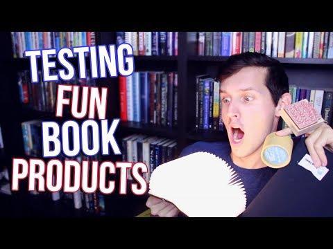 TESTING FUN BOOK PRODUCTS