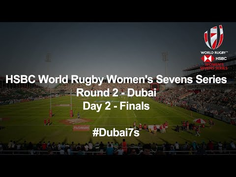 We're LIVE for day two Finals of the Women's HSBC World Rugby Sevens Series in Dubai #Dubai7s