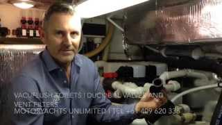 Marine Sanitation Systems - Duck Bill Valves and Vent Filters