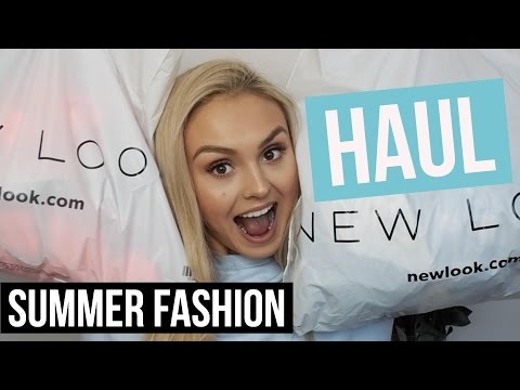 New Look Haul / Try on / Summer Fashion...