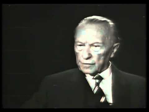 Konrad Adenauer | Die Macht der Juden (Interview)