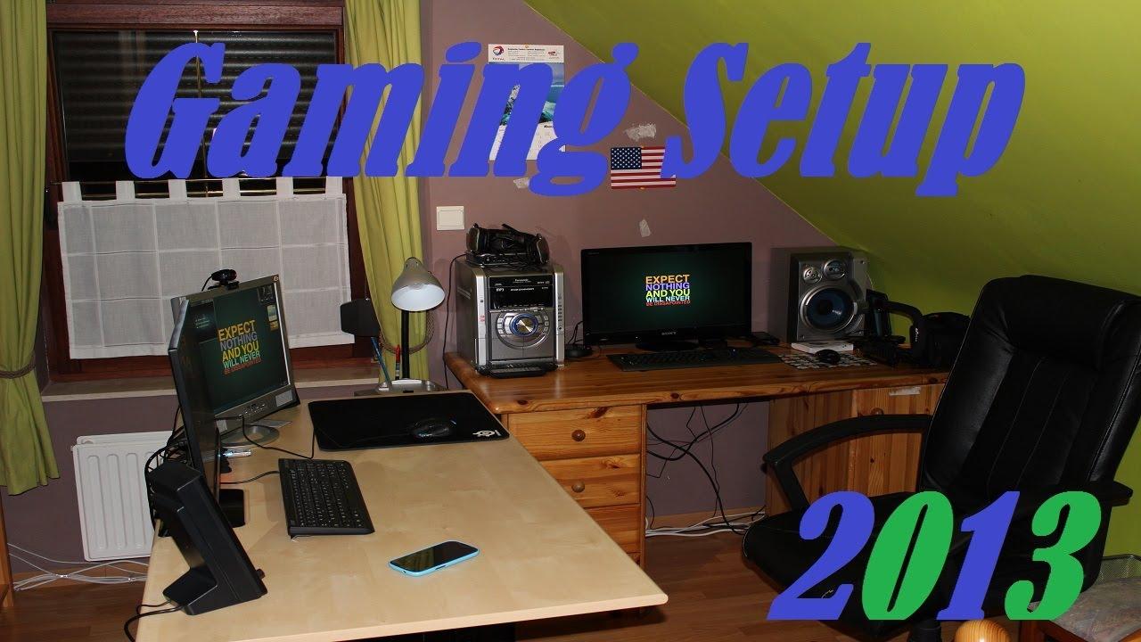 Gaming Setup 2013  Ma config et ma chambre de gamer Edition 20  YouTube