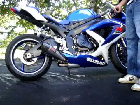 gsxr 600 k8 yoshimura r 55 full exhaust 2008 youtube. Black Bedroom Furniture Sets. Home Design Ideas