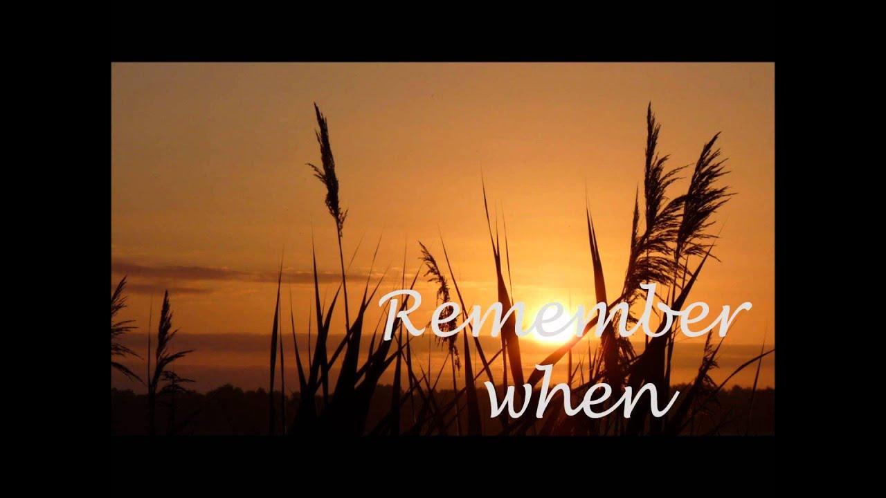 Remember When - Alan Jackson Lyrics Chords - Chordify