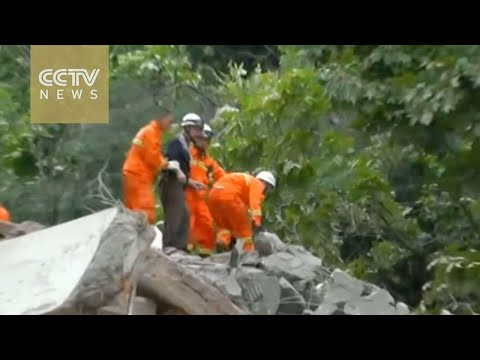 Building collapses in Guiyang