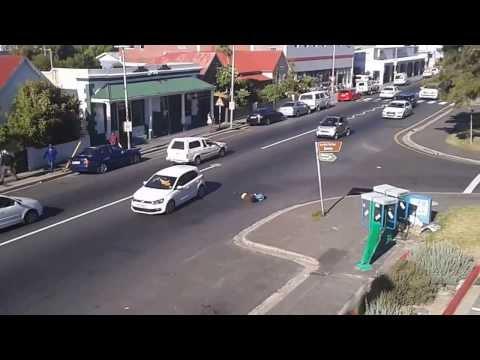 Capetown street fight