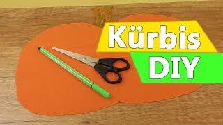 Kürbis DIY Idee | Herbst & Halloween Deko basteln | DIY Kids Party Idee