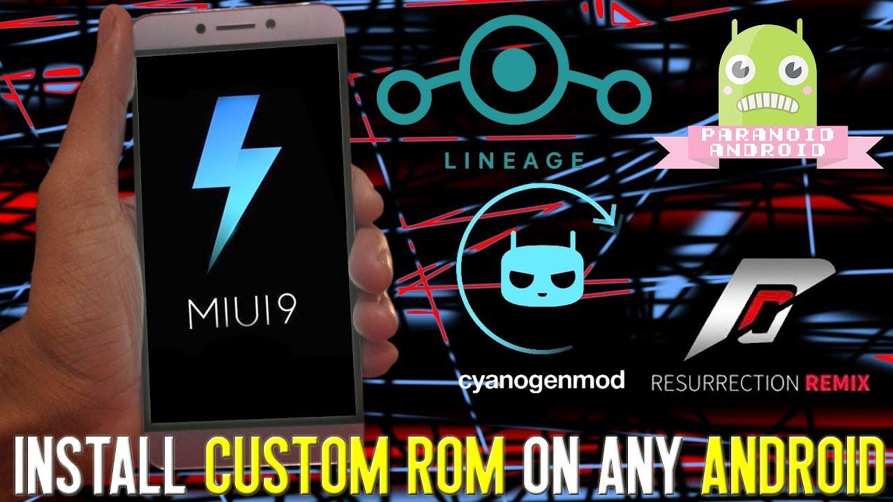 How to install custom rom on any  Leeco Device