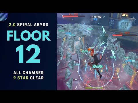 2.0 Spiral Abyss FLOOR 12 HARDER???  | First Look 9* Clear