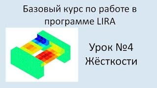 LIRA Sapr Урок №4 Жёсткости