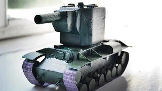 ТАНК ИЗ БУМАГИ своими руками | Как сделать танк из бумаги