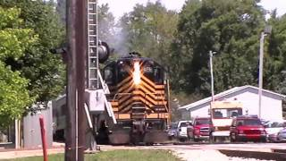 A Great 8-12-11 with the Indiana State Fair Train and More! (HD)