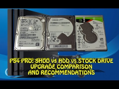 how to change ps4 pro hard drive